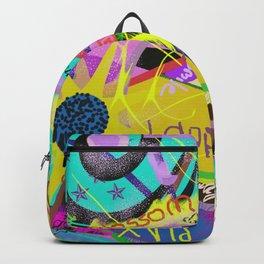 happy graffitti Backpack