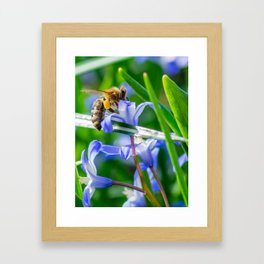 BeesWork Framed Art Print