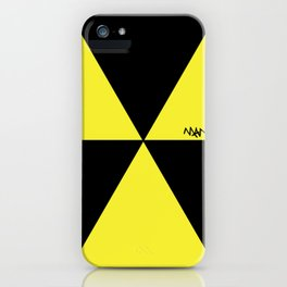 MANI Designs' Style 'Radiactive' logo iPhone Case