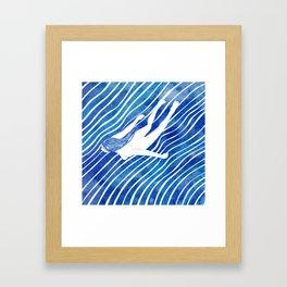 Water Nymph LXIV Framed Art Print