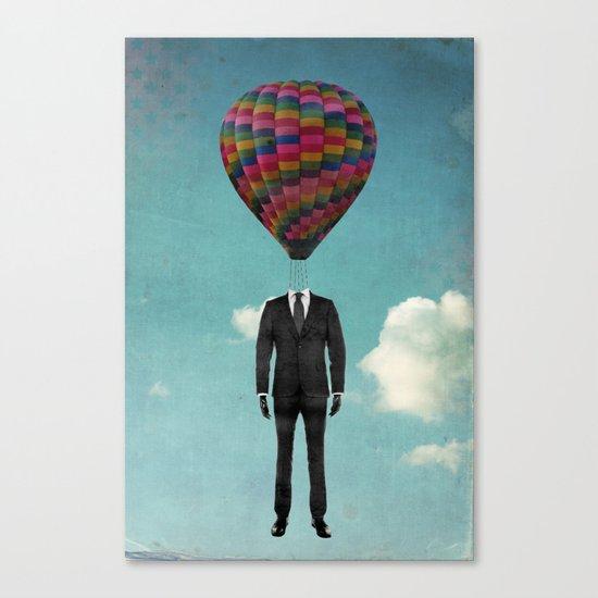 balloon man Canvas Print