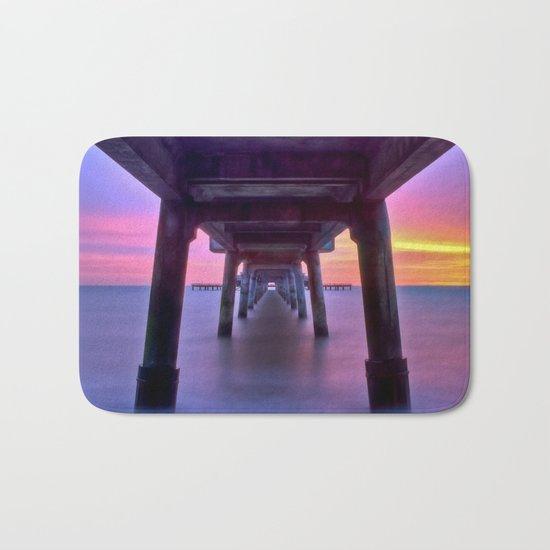 Deal Pier at Sunrise Bath Mat