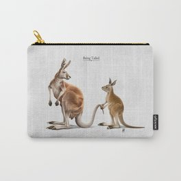 Being Tailed Carry-All Pouch