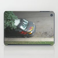 70s iPad Cases featuring Smokin'! ~ 70s-ish van by helene smith photography