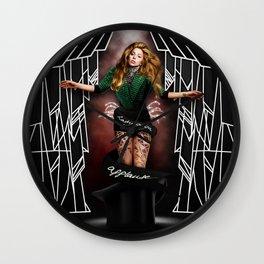 A-P-P-L-A-U-S-E Wall Clock