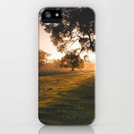 Golden Tree iPhone Case