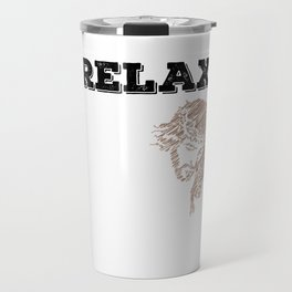 """""""Relax, Jesus got this"""" tee design for religious and spiritually active and awesome person like you! Travel Mug"""