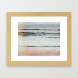 Beach Bubbles Framed Art Print