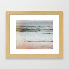 Beach Bubbles Framed Art Print