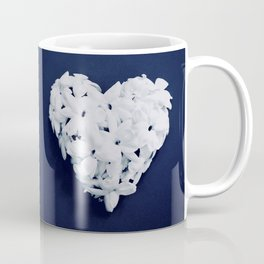 Heart on Blue Coffee Mug