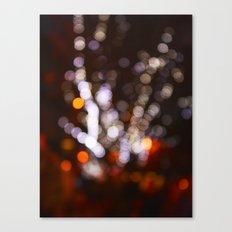 Tree Bokeh Canvas Print
