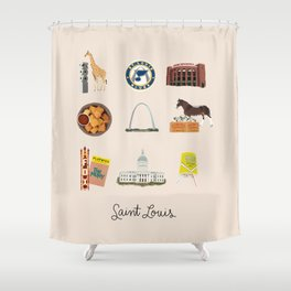 Saint Louis Shower Curtain