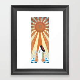 Koumbi Framed Art Print