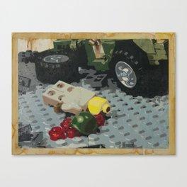 Tellermine Aftermath Canvas Print