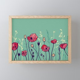 Summer Field Framed Mini Art Print