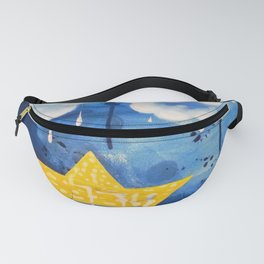 Sailing in the storm Fanny Pack