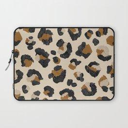 Leopard Print – Neutral Gold Light Palette Laptop Sleeve