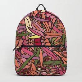 Fallen Eucalyptus Leaves - Warm Palette Backpack