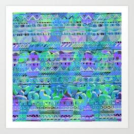 Geo Tribal 2 Art Print
