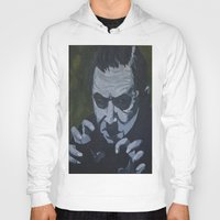 dracula Hoodies featuring Dracula by Paintings That Pop
