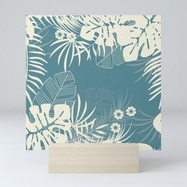 Tropical pattern 047 Mini Art Print