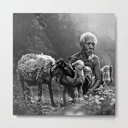 Old man 09 Metal Print
