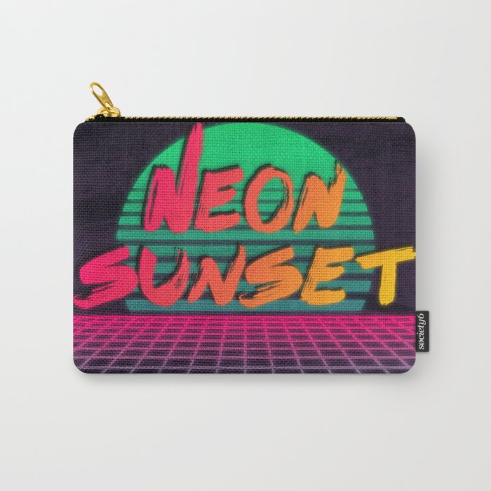 Neon Sunset Redux  Carry-All Pouch