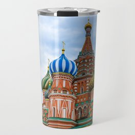 Saint Basil's Cathedral (Red Square in Moscow) Travel Mug
