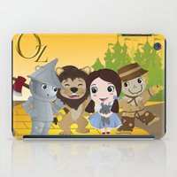 oz iPad Cases featuring Oz by 7pk2 online