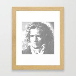 Beethoven Portrait Framed Art Print