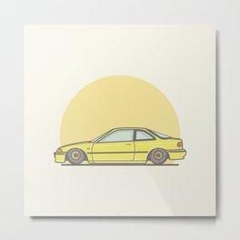 Honda Integra DA5 vector illustration Metal Print