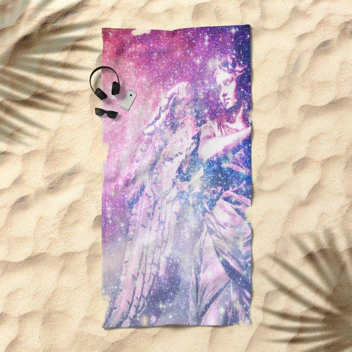 Celestial Angel Beach Towel