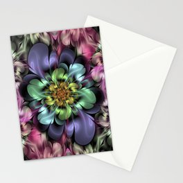 Floractal Garden Bloom Stationery Cards