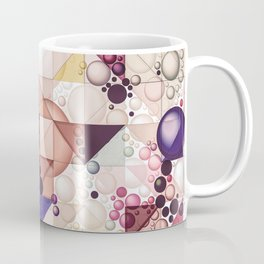 Multiple Geometrical Pattern Decor Coffee Mug