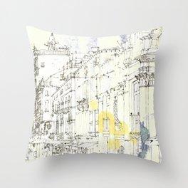 Nothing,my dear, endures Throw Pillow