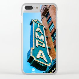 The Tampa Theatre Clear iPhone Case