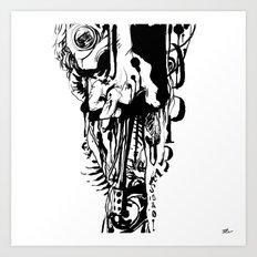Opressão Art Print