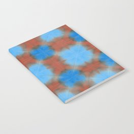 Shibori (blue and brown) Notebook