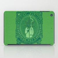 marijuana iPad Cases featuring Medicinal Marijuana by victor calahan
