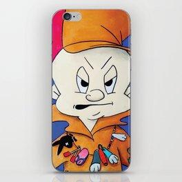 wabbitkilla iPhone Skin