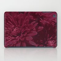 burgundy iPad Cases featuring Burgundy Chrysanthemums by Judy Palkimas