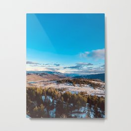 Okanagan Sunset Metal Print