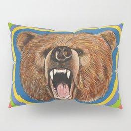 Retro Bear Pillow Sham