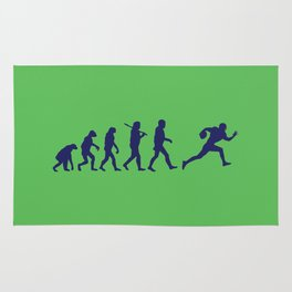 Evolution football Rug