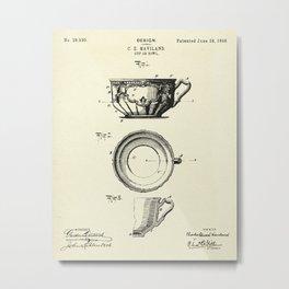 Cup or Bowl-1898 Metal Print