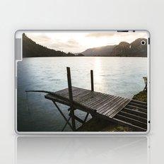 Salmon Sunrise Laptop & iPad Skin