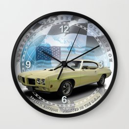 "1970 Pontiac GTO Judge Decorative 10"" Wall Clock (020ac) Wall Clock"