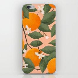 fresh citrus iPhone Skin