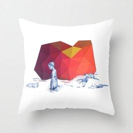 River Girl Throw Pillow