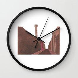 London BT Tower Print Wall Clock